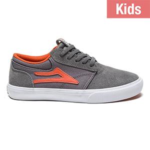 Lakai Kids Griffin Grey Rust