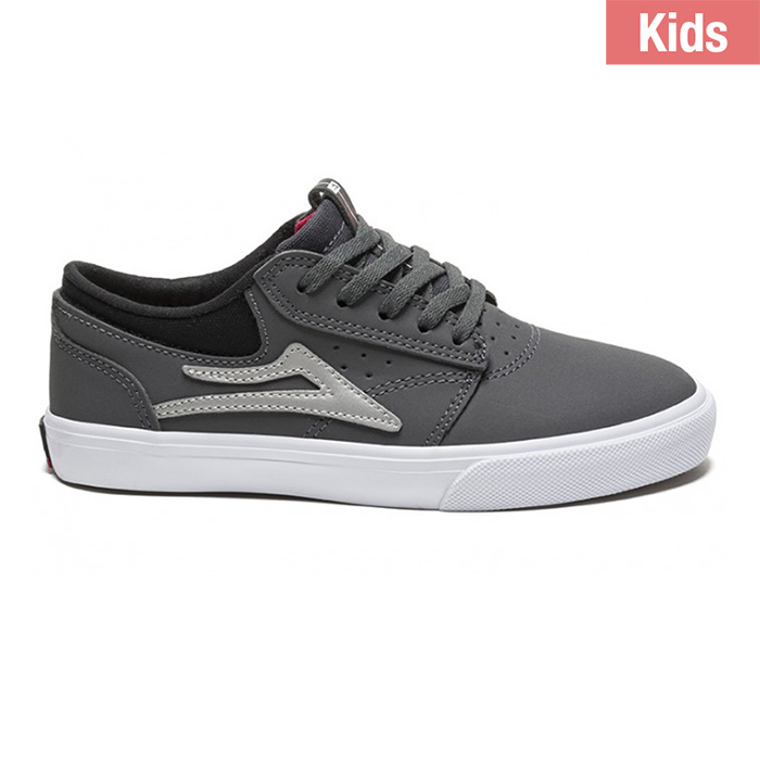 Lakai Kids Griffin Grey Synthetic