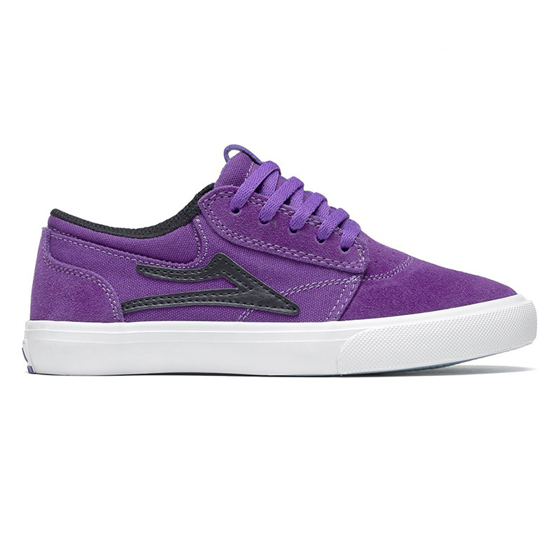 Lakai Kids Griffin Purple/Black Suede