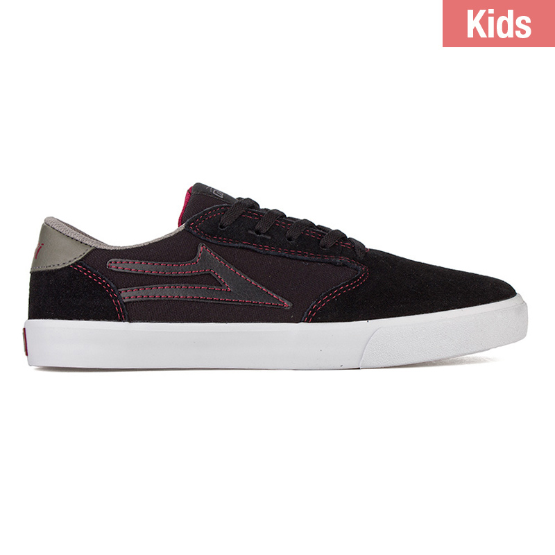 Lakai Kids Pico Black/Grey Suede