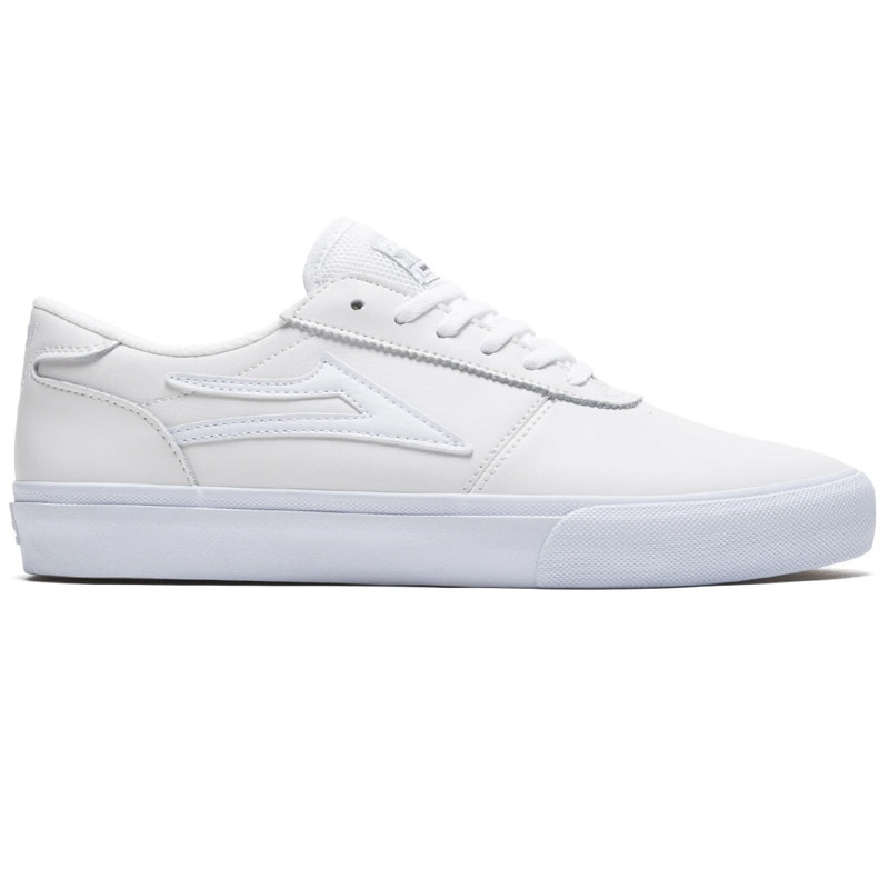 Lakai Manchester White Leather