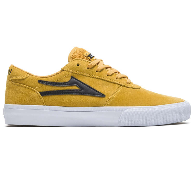 Lakai Manchester Yellow/Black Suede