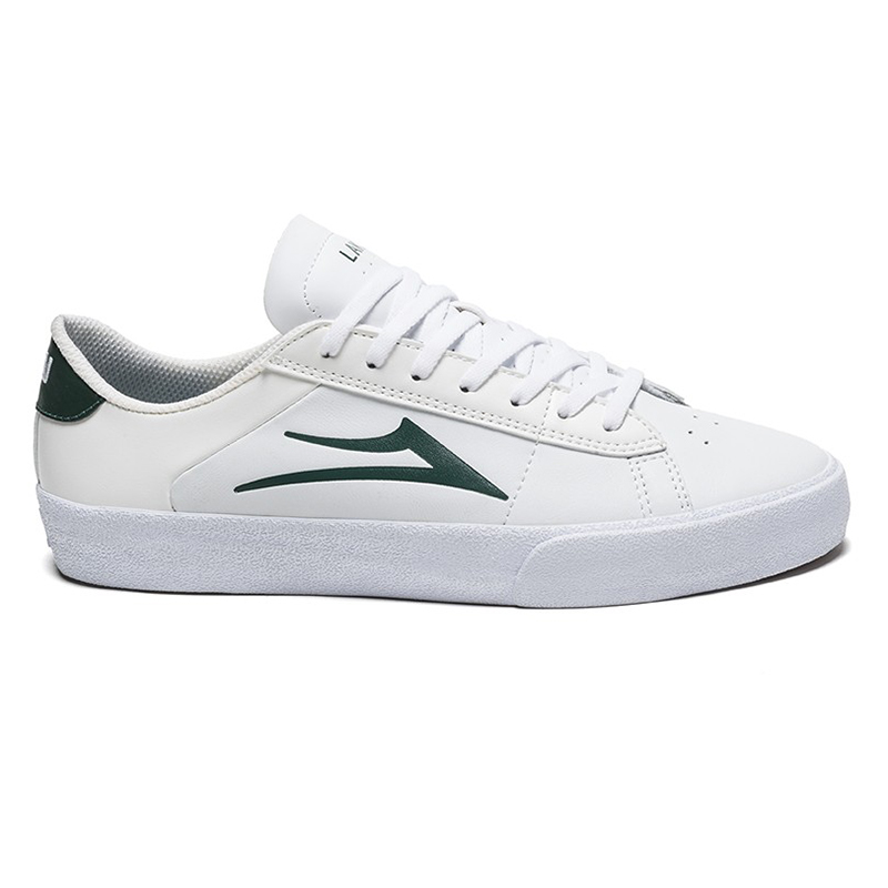 Lakai Newport White/Pine Leather
