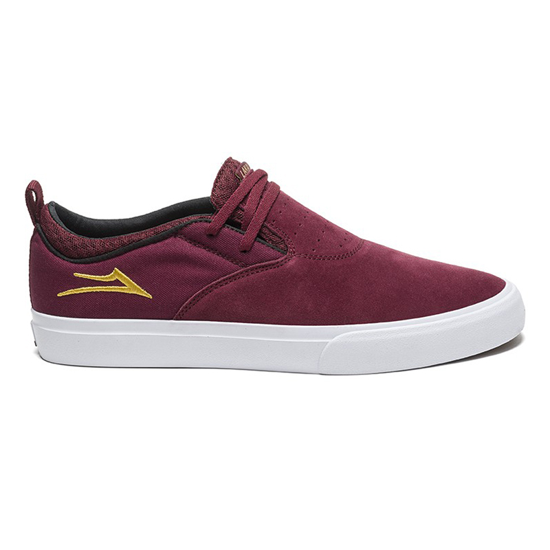 Lakai Riley Hawk 2 Burgundy Suede