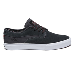 Lakai Riley Hawk X Independent Charcoal Suede