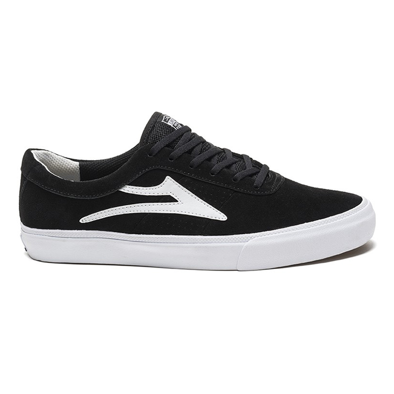 Lakai Sheffield Shoes Black Suede