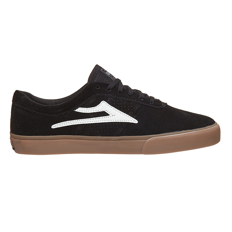 Lakai Sheffield Black/White Suede