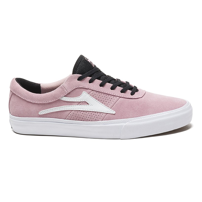 Lakai Sheffield Shoes Pink Suede