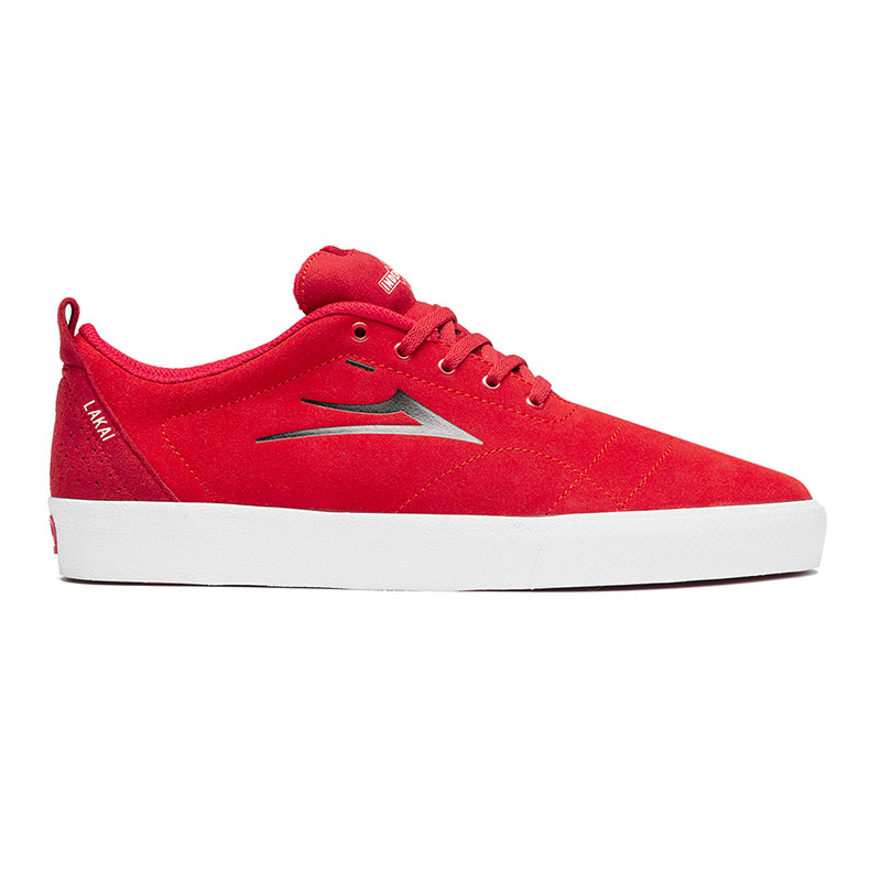 Lakai x Independent Bristol Red Suede