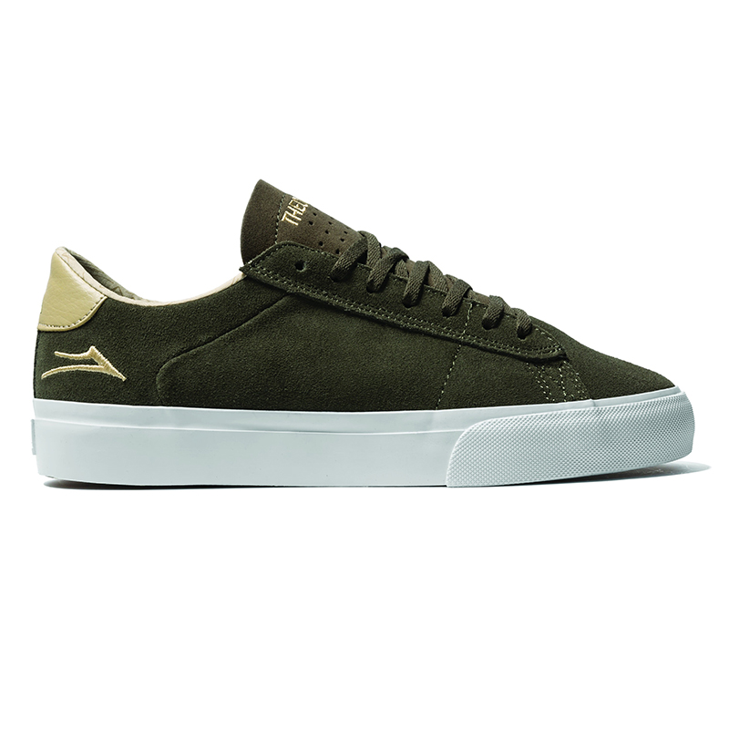 Lakai x Theories Newport Olive/Sand Suede
