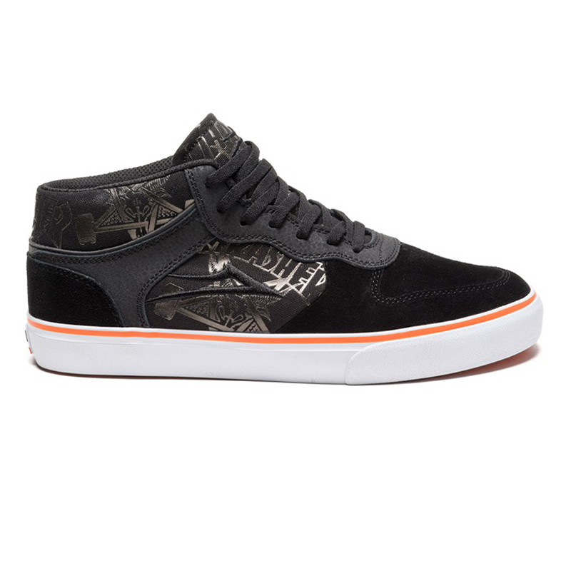 Lakai x Thrasher Carrol Mid Black/Orange
