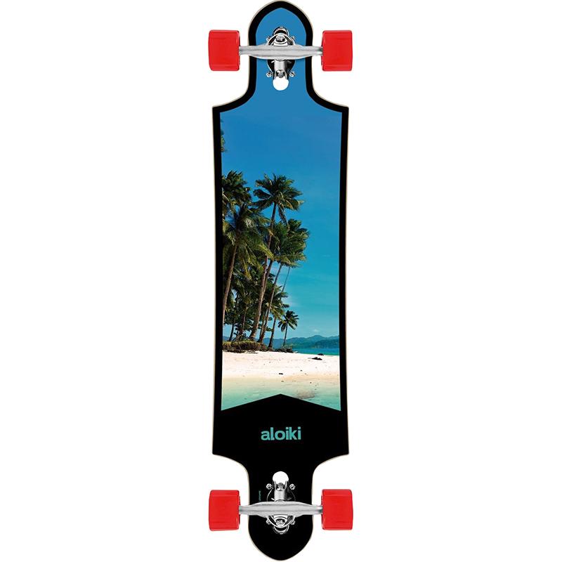 Aloiki Island FS Drop Trough Complete Longboard 39.4