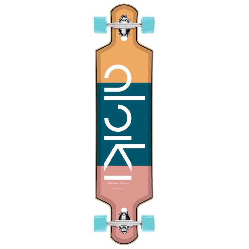 Aloiki Tre Complete Drop Through Longboard 40.2