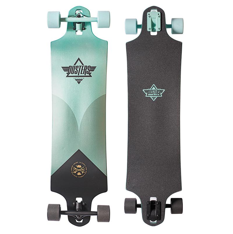 Dusters Aqua Complete Longboard Turquoise 38.0