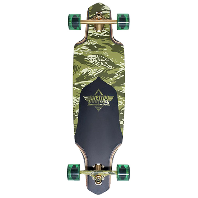 Dusters Channel Guard Complete Longboard Camo 34.0