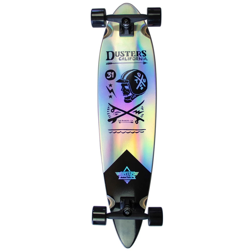 Dusters Moto Cosmic Complete Longboard Holographic 37.0