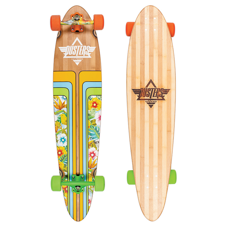 Dusters Primo Complete Longboard Honey Creeper Blue 40.0