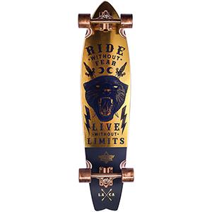 Dusters Puma Complete Longboard Black/Gold 37.0