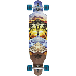 Dusters Wake Element Complete Longboard Multi 38.0
