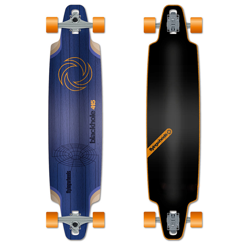 Flying Wheels Blackhole Longboard Navy 41.5
