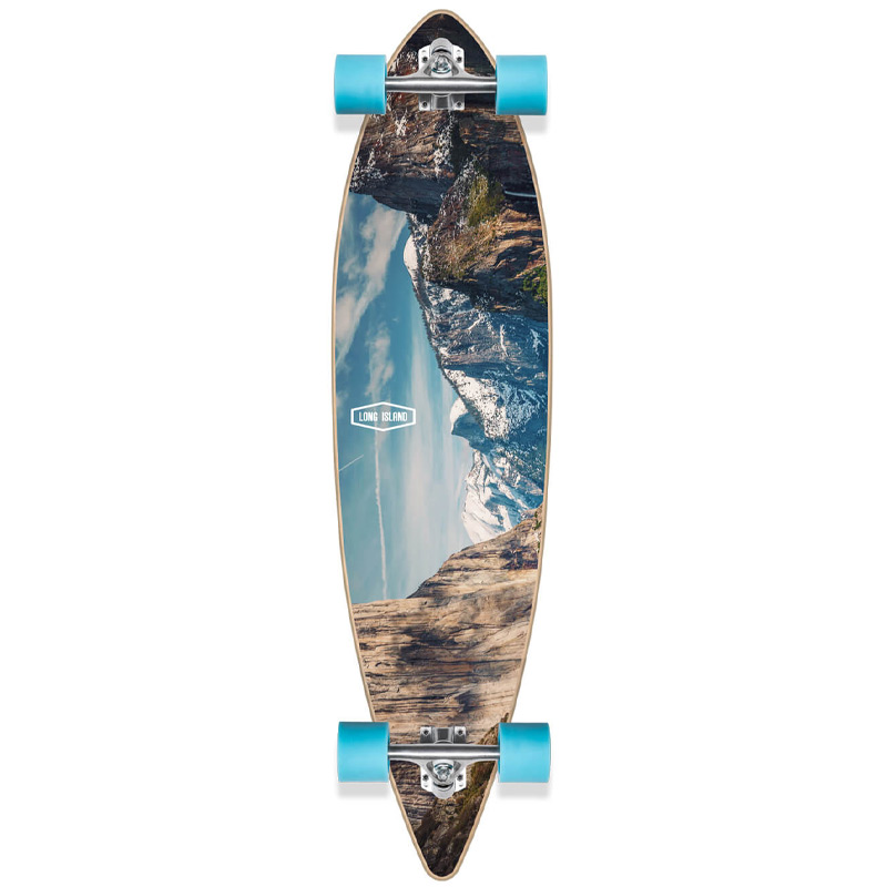 Long Island Breath Complete Pintail Longboard 9.85 x 41.0