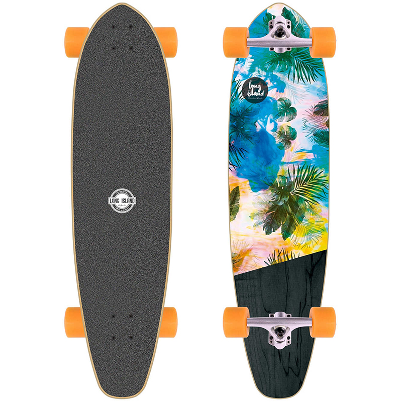 Long Island Kicktail Essential Complete Longboard 37.0