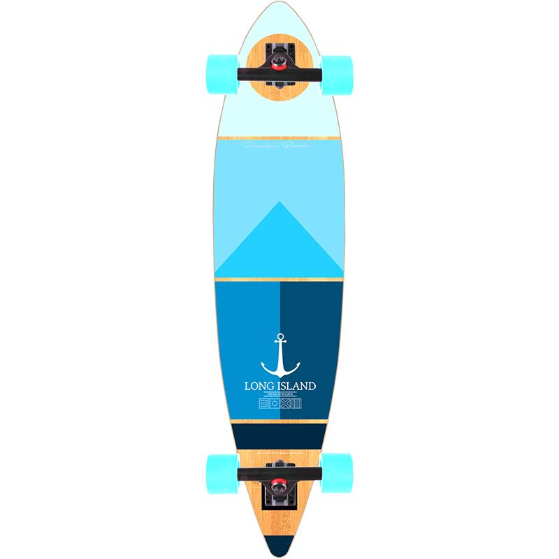 Long Island Marine Pintail Complete Longboard 40.0