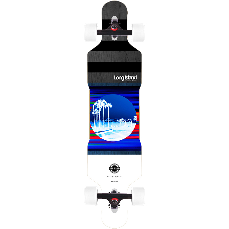 Long Island Venice Drop Through FS Complete Longboard 41.0