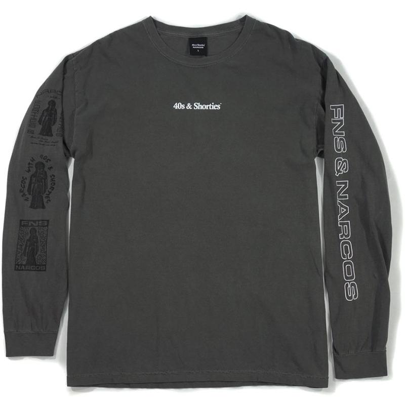 40s & Shorties x Narcos Muerte Longsleeve T-shirt Tar