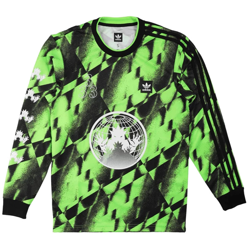 adidas Aop Club 2 Jersey Sgreen/Black