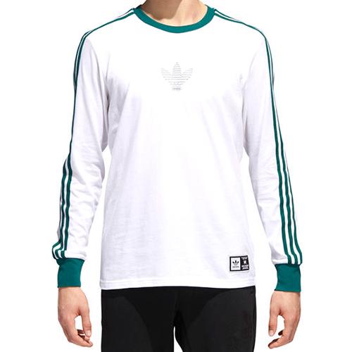adidas Club Longsleeve T-shirt White/Cgreen