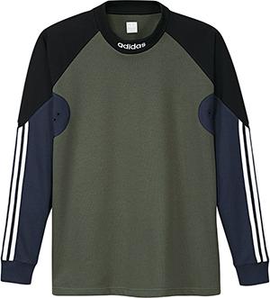 adidas Goalie Longsleeve Jersey Basgrn/Black/Conavy