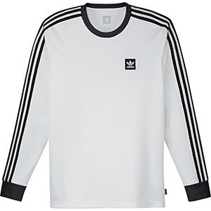 adidas Ls Club Jersey White/Black