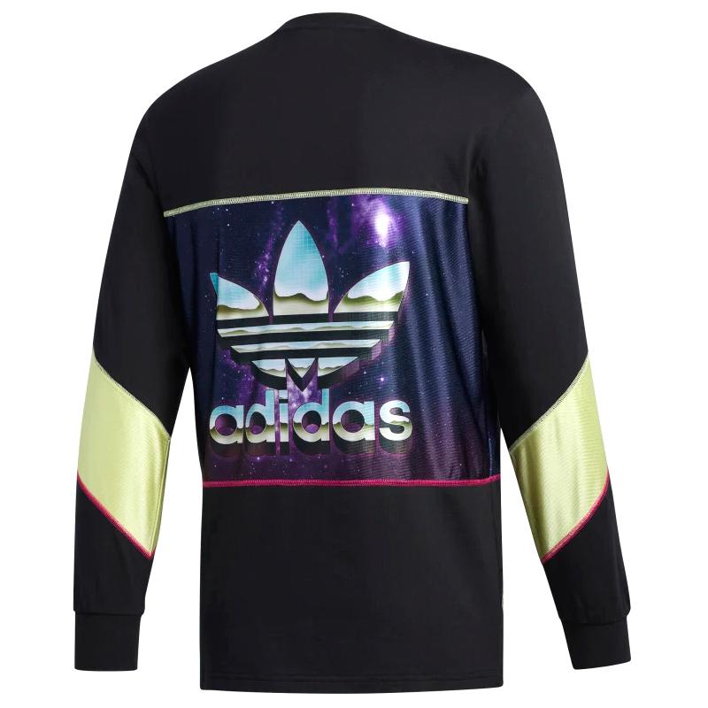 adidas Metropolitan Longsleeve T-Shirt Black/Yeltin/Reamag