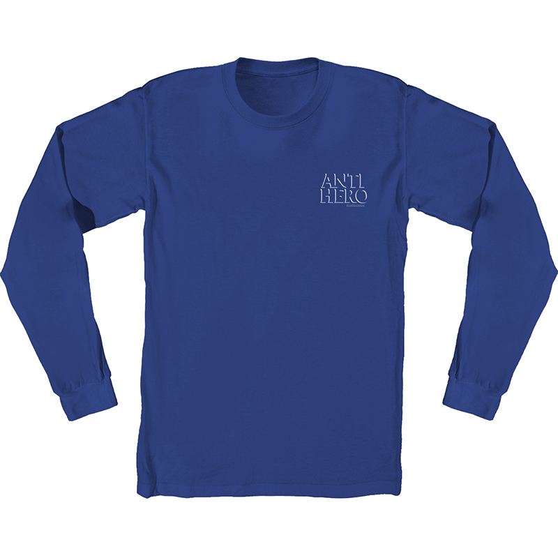 Anti Hero Drophero Longsleeve T-Shirt Royal