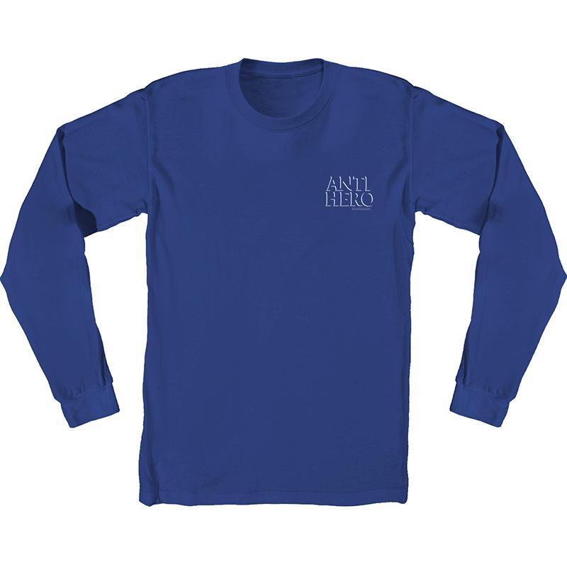 Anti Hero Drophero Longsleeve T-Shirt Royal