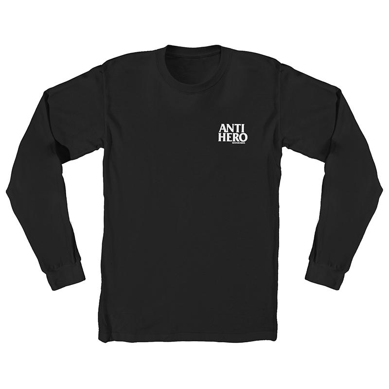 Anti Hero Lil Blackhero Longsleeve T-Shirt Black