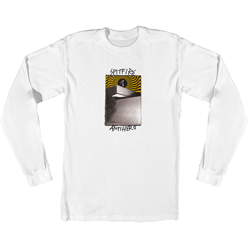 Anti Hero x Spitfire Cardiel Car Wash Longsleeve T-Shirt White