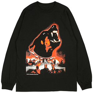 Butter Goods Doberman Longsleeve T-Shirt Black