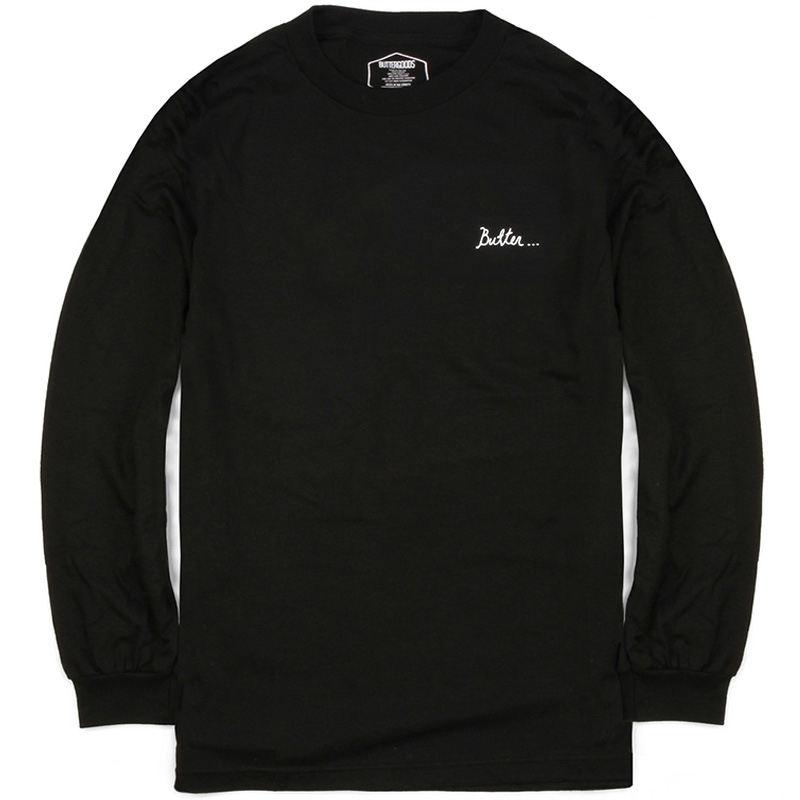 Butter Goods Nevermind Longsleeve T-Shirt Black
