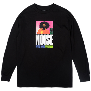 Butter Goods Noise Longsleeve T-Shirt Black