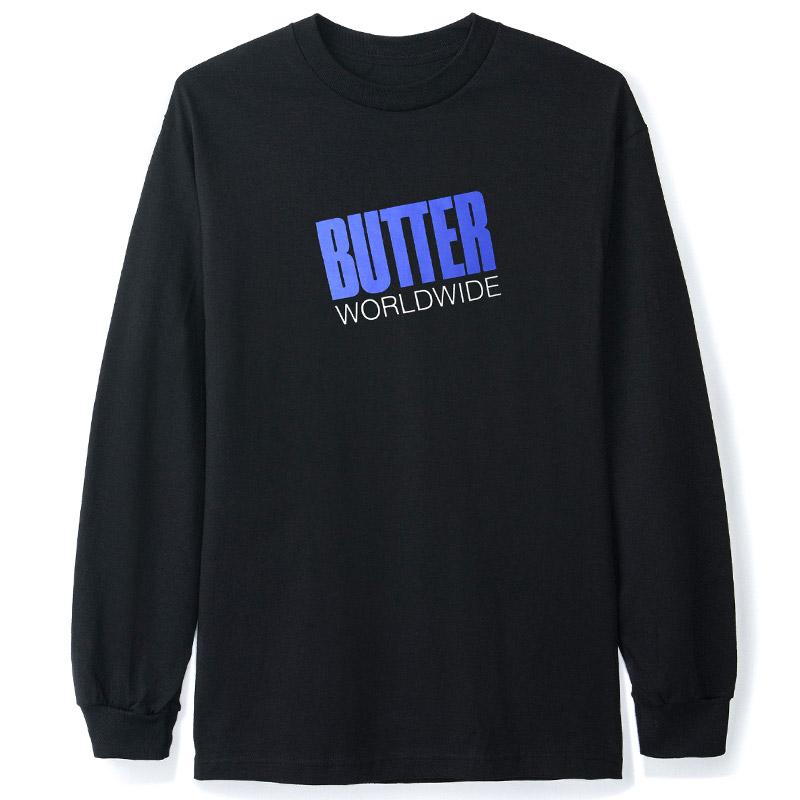 Butter Goods Tilt Longsleeve T-Shirt Black