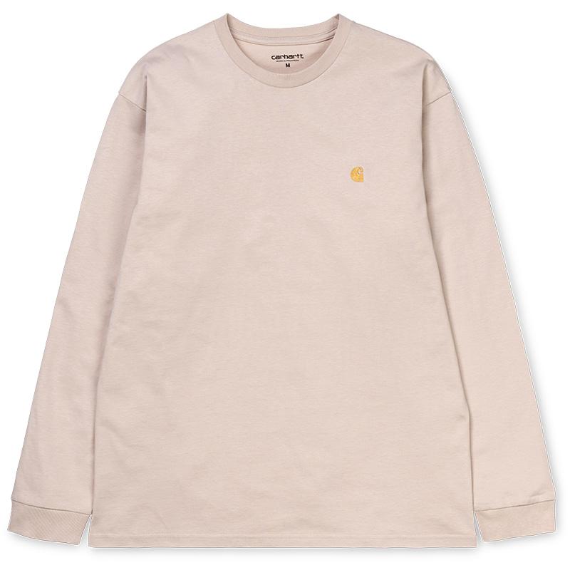 Carhartt Chase Longsleeve T-Shirt Boulder/Gold