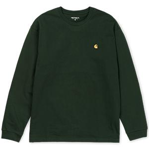 Carhartt Chase Longsleeve T-Shirt Loden/Gold