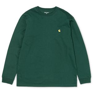 Carhartt Chase Longsleeve T-Shirt Tasmania/Gold