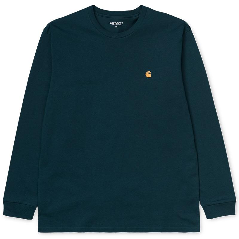 Carhartt Chase T-Shirt Duck Blue/Gold