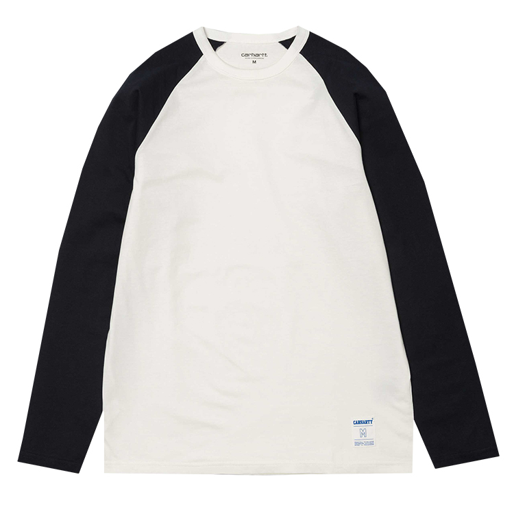 Carhartt Dodgers Longsleeve T-Shirt Wax/Dark Navy