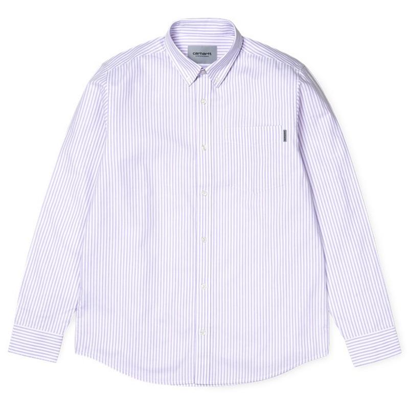 Carhartt Karev Longsleeve T-Shirt Soft Lavender