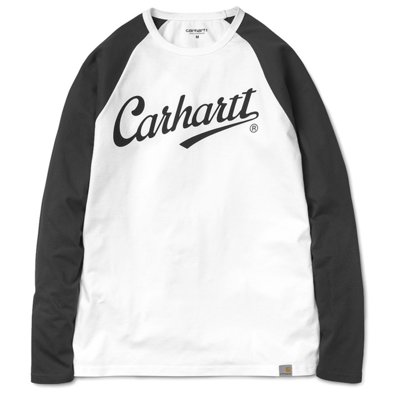 Carhartt League Longsleeve T-Shirt White/Black