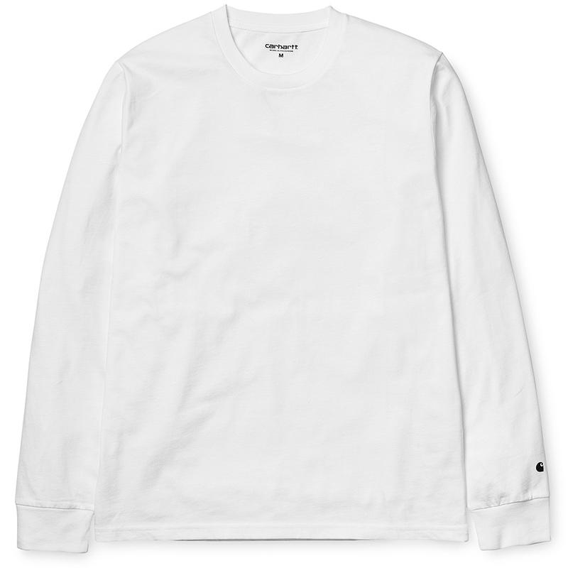 Carhartt Base Longsleeve T-shirt White/Black